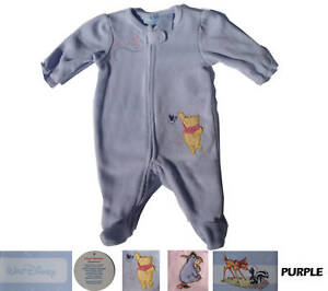 Image is loading Disney-Winnie-Comfortable-Baby-Girls-Infants-One-Piece- ebb3a1693