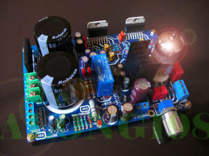 Assembled Tube 6N3 Preamp TDA7294 Audio Power Amplifier