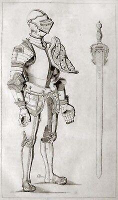 Ritterrüstung Don Juan de Austria 1840 Plattenpanzer Ritter Johann v. Österreich