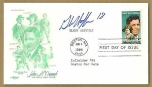 GLENN-HOFFMAN-AUTOGRAPH-FIRST-DAY-COVER-ENVELOPE-AUTO
