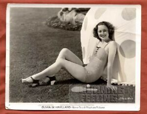 OLIVIA-DeHAVILLAND-30-VERY-RARE-SEXY-VINTAGE-PHOTO