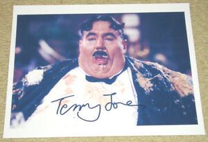 Monty-Python-SIGNED-PHOTO-Mr-Creosote-Meaning-of-Life-Terry-Jones-REPRINT