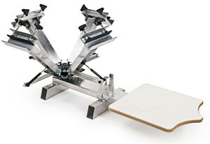 4-color-1-station-silk-screen-printing-silver-press