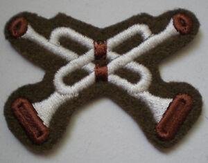 2-x-Military-TRF-Trumpeter-Cloth-Badge-Army-Regimental