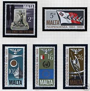 Malta 1969 5th Anniv of Independence SG 4226 MNH - <span itemprop=availableAtOrFrom>Buntingford, Hertfordshire, United Kingdom</span> - All items to be returned within 14 days Most purchases from business sellers are protected by the Consumer Contract Regulations 2013 which give you the right to cancel  - Buntingford, Hertfordshire, United Kingdom