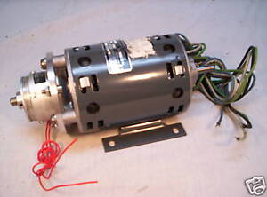 Robbins myers 2300136 new 1 20 hp motor w warner brake for Robbins and myers replacement motors