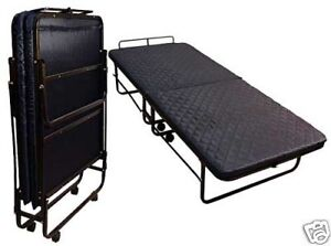 FOLD-UP-ROLLAWAY-MATTRESS-SINGLE-METAL-FRAME-GUEST-BED