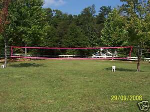 Volleyball-net-32X3-Pink-BRAIDED-STEEL-CABLE