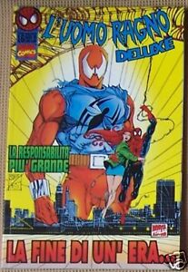 L-039-UOMO-RAGNO-DELUXE-n-16-Marvel-Italia-1996