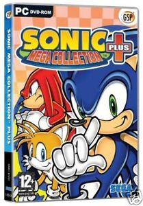 SONIC MEGA COLLECTION PLUS - 20 CLASSIC GAMES - NEW