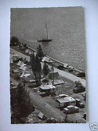 AK Campingplatz 1962 abgestempelt Neudorf Bodensee