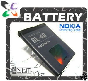 ORIGINAL Nokia BL4B 7070/7500-Prism/7373/N76 Battery