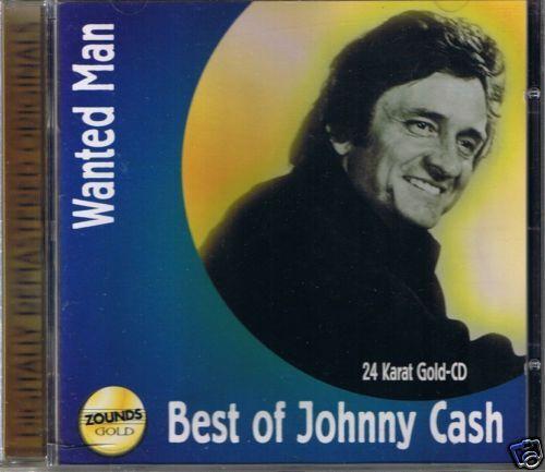 Cash, Johnny Wanted Man (Best of) Zounds 24 Karat Gold CD