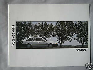 1991-Volvo-440-Brochure-Pub-No-MC-CAR-BV-6577-91