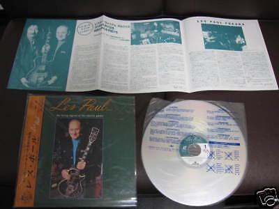 Les Paul Living Legend Guitar Japan Laser Disc OBI 1993
