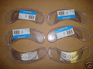 60 Gewebe-Schleifbänder für B/&D Powerfeile 6 x 457 mm