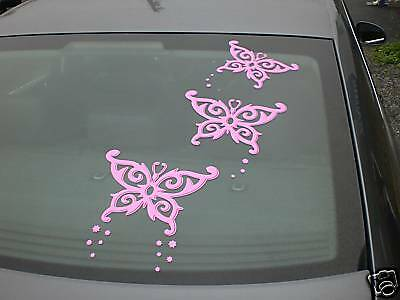 Butterfly Window Decals Any Colors Available Car Truck