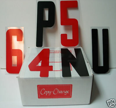 8 Inch Outdoor Portable Marquee Changeable Sign Letters 300 Piece Set