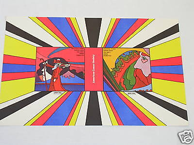 Vintage BEAUTIFUL THINGS HAPPEN Psychedelic Poster by PETER MAX