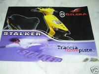 Catalogo Brochure Depliant Piaggio Gilera Stalker 50cc -  - ebay.it