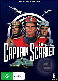 CAPTAIN SCARLET Complete Series *New* R4 Gerry Anderson
