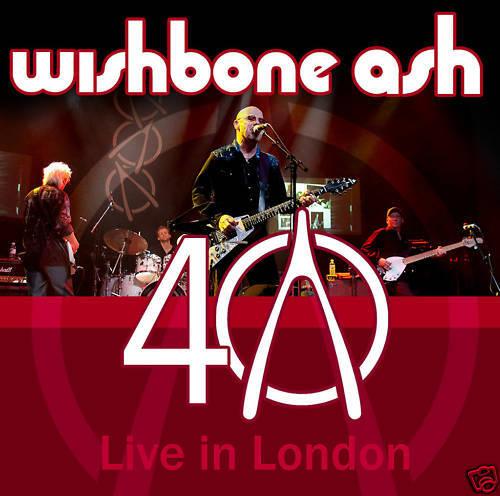 CD Wishbone Ash 40th Anniversary Concert - Live In London  2CDs