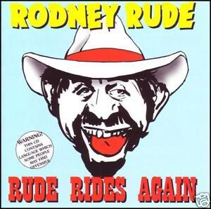 RODNEY RUDE - RUDE RIDES AGAIN ~ AUSSIE COMEDY CD *NEW*