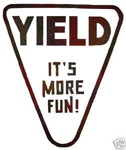 VINTAGE-70-039-s-YIELD-ITS-MORE-FUN-IRON-ON-TRANSFER