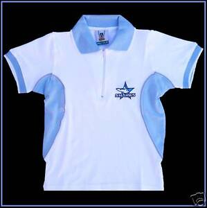 NRL-CRONULLA-SHARKS-Polo-Shirt-Wave-L-92cm-Ladies-10-Kids-10c-NEW-w-tags