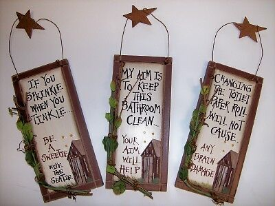 Country Star Bathroom Decor | eBay