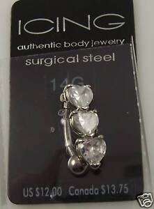 Heart-belly-button-navel-ring-piercing-naval-crystal