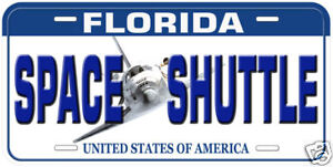 space shuttle license plate - photo #39