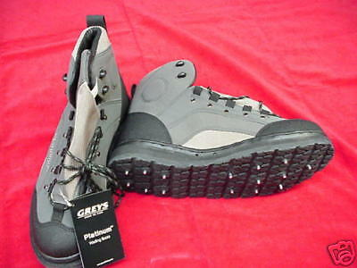 Hardy/greys Platinum Wading Boots Rubber/studs Great