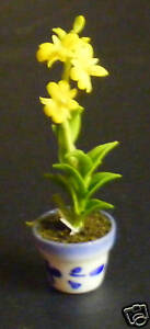 Tall-Yellow-Orchid-Dolls-House-Miniature-Flower-15