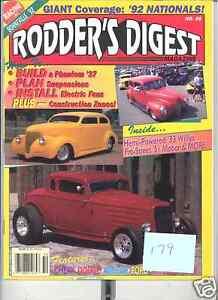 DEC 1992  RODDERS DIGEST -  RODS - 1992 NATIONALS