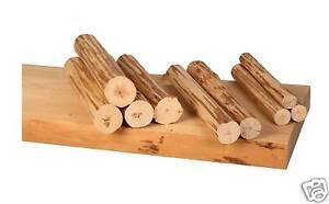 Log-Furniture-DIY-End-table-or-nightstand-handpeeled-pine-Use-your-tenon-cutter