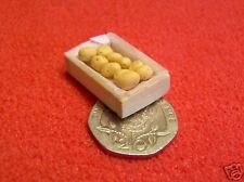 1/24th Scale Dolls House Miniature Crate Potatoes 001