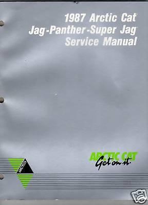 manuals arctic cat jag trainers4me 1987 arctic cat jag panther super jag service manual