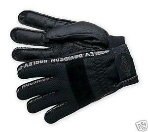 Harley-Davidson-Men-039-s-Air-Flow-Full-Finger-Gloves