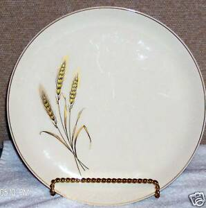 image is loading salem royal joci china dinner plates wheat 23k - China Dinner Plates