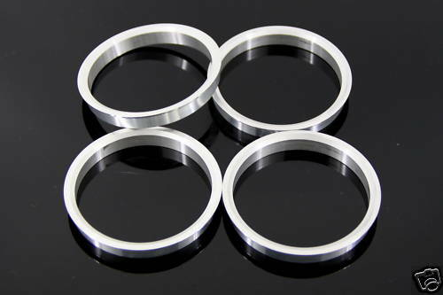 Wheel Hub Centric Rings OD=73.1mm ID=66.9mm Holden COMMODORE VE Aluminium Alloys