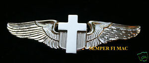 CHRISTIAN-PILOT-WINGS-PIN-CROSS-JESUS-CHAPLAIN-US-ARMY-NAVY-MARINES-AIR-FORCE
