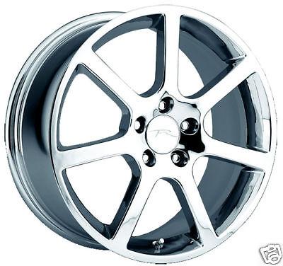 Chrome 17 Inch Cadillac Wheel Mc2 Voss Vauss Vogue Ultra Deville Cts Sls Dts