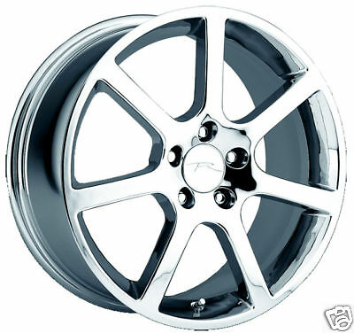 Chrome 17 Inch Cadillac Wheel Mc2 Voss Vauss Vogue Ultra Deville Cts Sls Dts