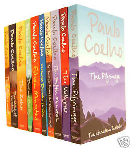 Paulo Coelho Collection 10 Books Set New