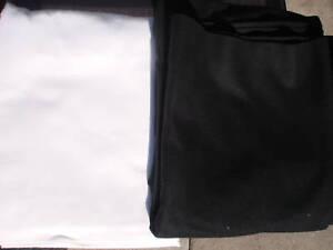 Fotohintergrund 210 x 260 cm Schwarz oder  Weiß