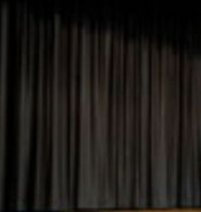 NEW Stage Curtain~15 x 30 NFR Black Backdrop~FREE SHIPPING~More Sizes Available