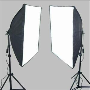 New Photo Studio Continuous Softbox Lighting Set UK