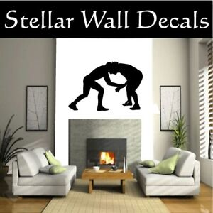 Wrestling-Sport-Wall-Car-Vinyl-Decal-Sticker-ST002