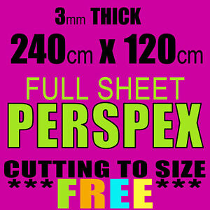 FULL-SHEET-BARGAIN-3mm-CLEAR-CAST-ACRYLIC-PERSPEX-240cm-x-120cm